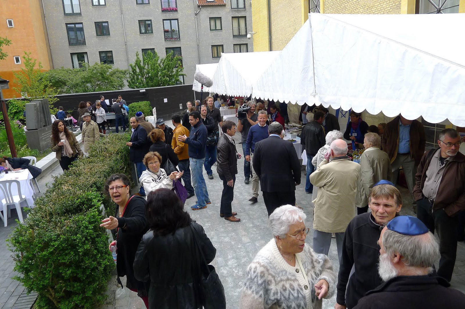 Frivillige til Jødisk Kulturfestival 31. maj - 5. juni 2016