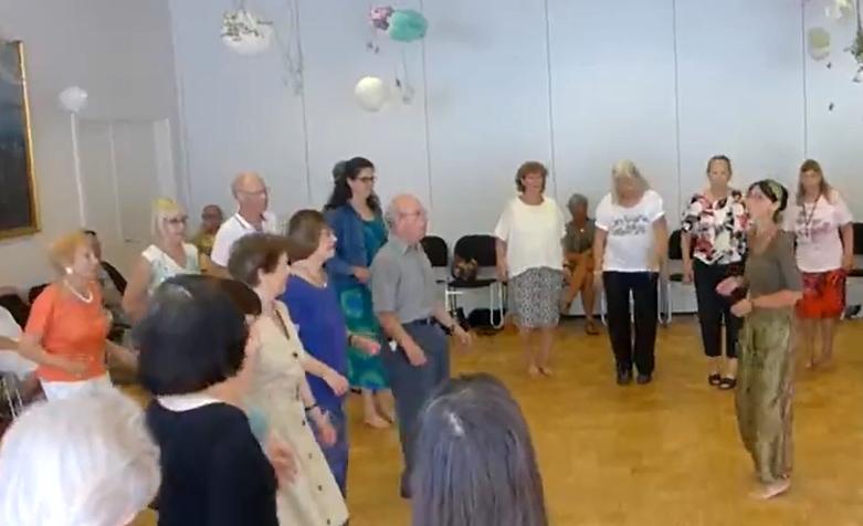 Israelsk dans med Nirkoda