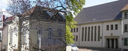 Erfurt to synagoger