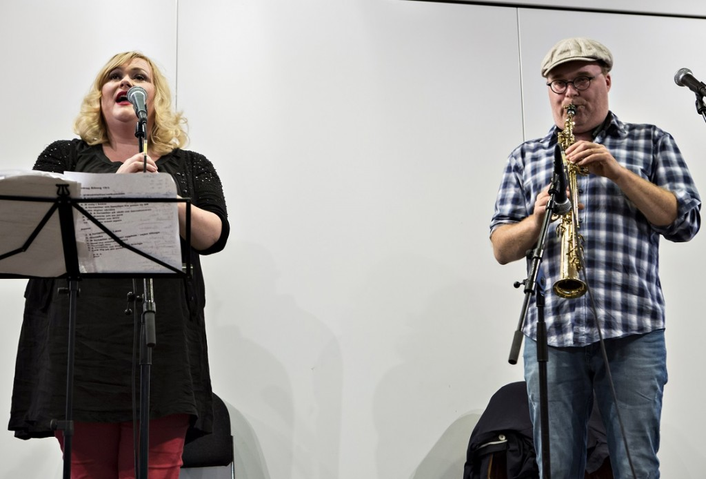 Optræden af Marie Carmen Koppel og Benjamin Koppel