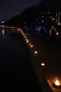 Levende lys ved Søerne