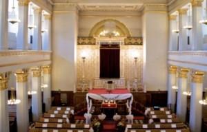 Bryllup i Københavns smukke synagoge
