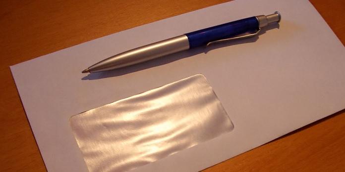 Konvolut og kuglepen