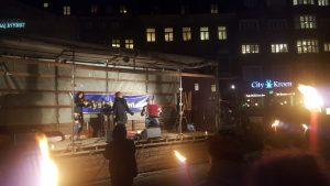Krystalnat 2016 Channe Nussbaum synger på scenen