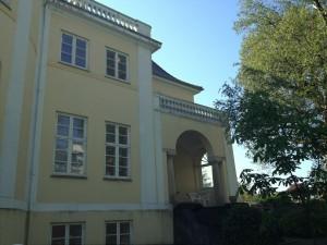 Skolens nye bygning