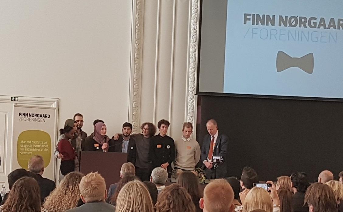 De nye Stemmer får Finn Nørgaard Prisen 2018