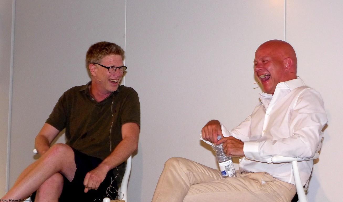 Martin Krasnik og Thomas Blachman - Interview og samtale søndag d. 3. juni