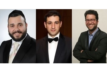 portræt af de tre tenorer